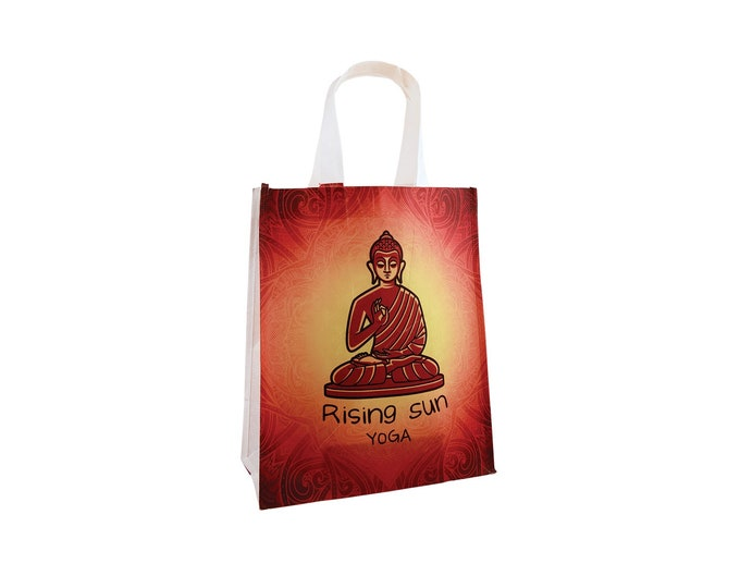 Custom Tote Bag, Your Choice of Photo/Image/Words, Personalized Canvas Tote Bag, Custom Merchandise Bag, Corporate Custom Shopping Bag