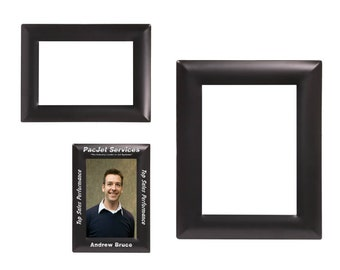 Personalized Black Metal Photo Frame, Custom Photo Frame, Engraved Photo Frame, 4x6, 5x7 or 8x10, Custom Picture Frame, Personalized Gifts