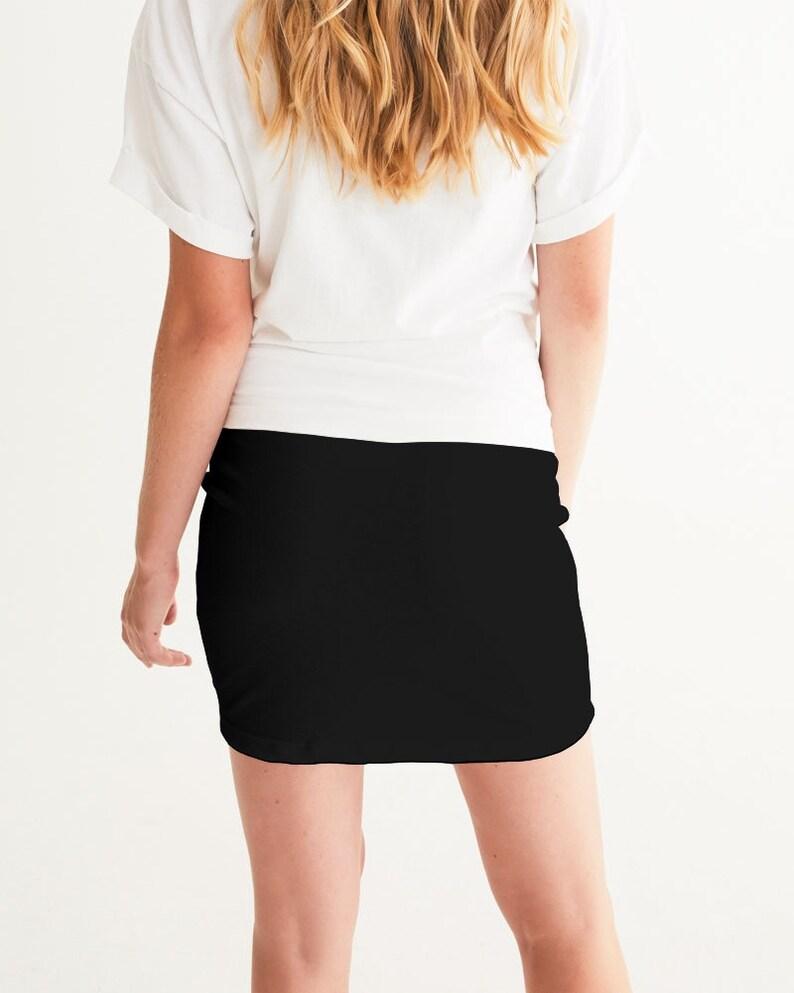 Yahuah Logo 01-01 Mini Skirt