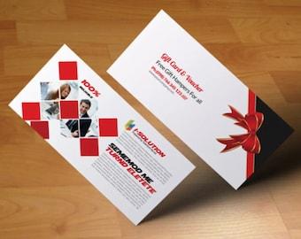 Custom Coupon/ Gift Voucher Design