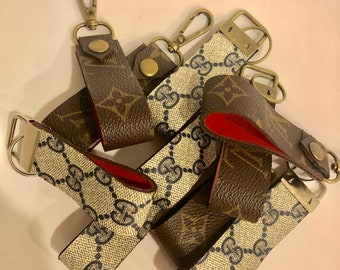 f2536406fdf Repurposed and upcycled Louis Vuitton and Gucci Keychain