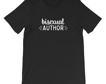 Bi Pride t-shirt, bi author, bisexuality, bi pride, bi arts festival, LGBT, queer tee, queer t-shirt, bisexual shirt