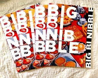 Big Bi Nibble, Cookbook, Bi Arts Festival, Bisexuality, Bi, Fundraiser, Recipes, Bisexual, Pansexual, Allies, LGBTQ, LGBT