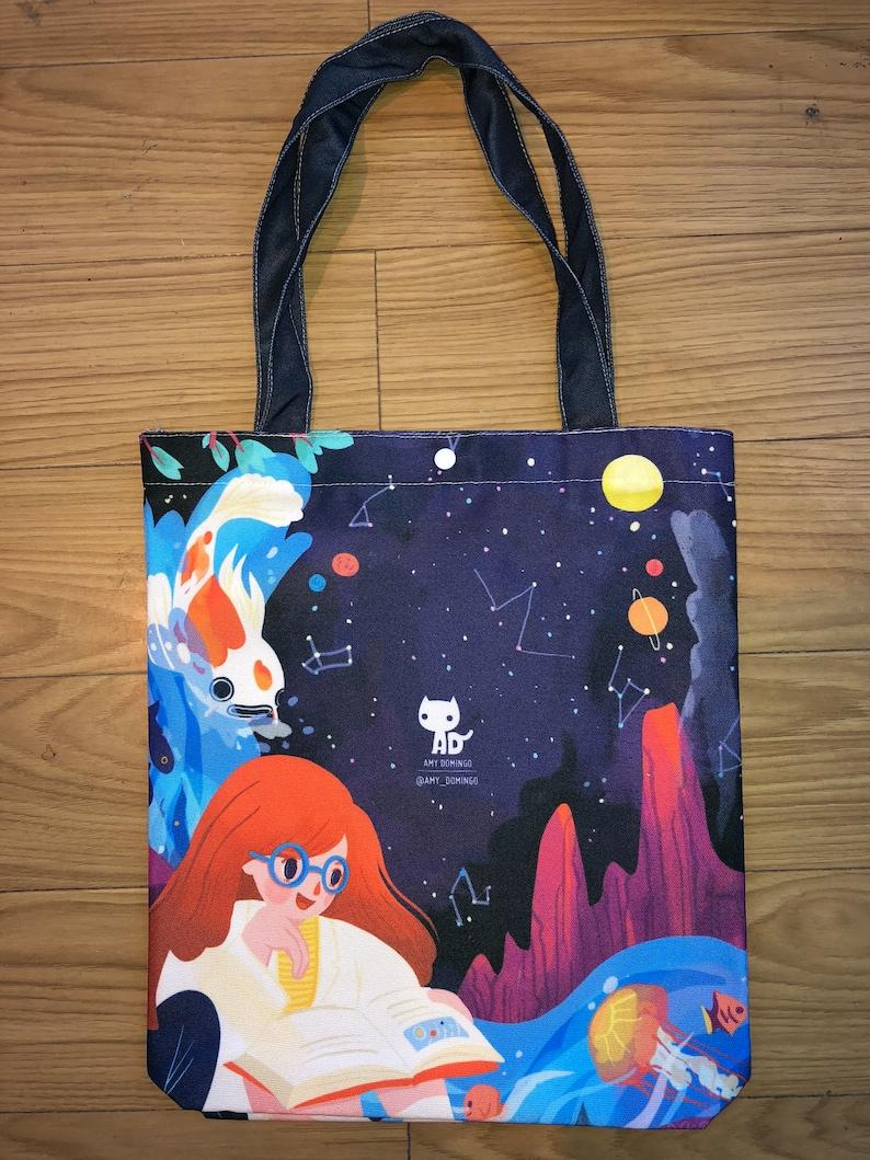 Galactic Space Tote Bag