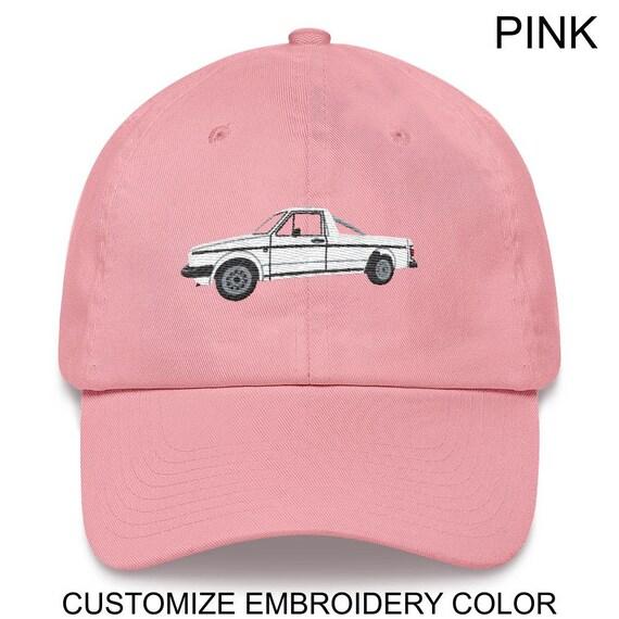 Volkswagen MK1 Caddy customizable embroidery Trucker cap
