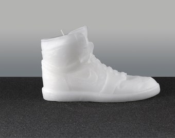 lowest price dcdd8 f1ad6 Nike Air Michael Jordan Retro 1 Scented White Shoe Candle-Collector  Item-30% Off