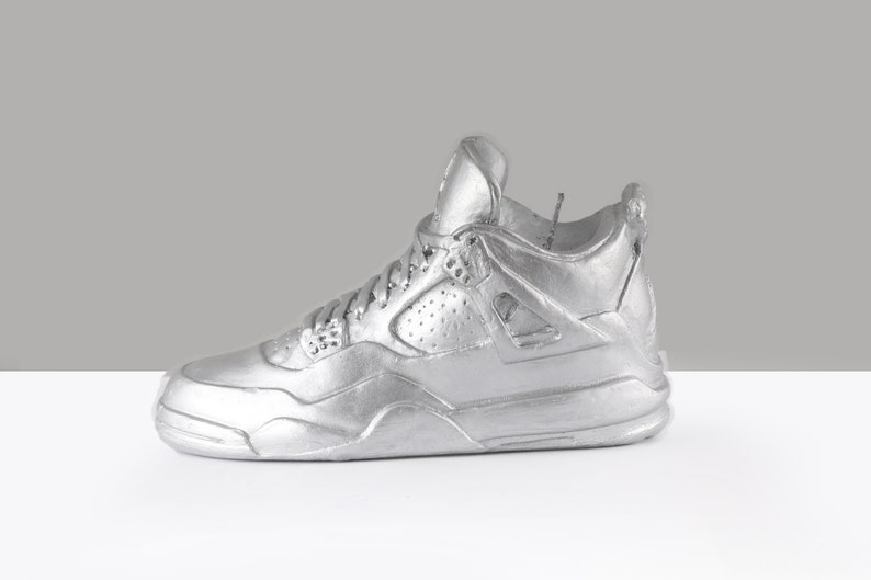 quality design fae5b e4204 Nike Air Jordan Retro 4 Scented Metallic Shoe Candle-Collectors Item-30% Off