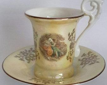 Kahla Porcelain, Collectible Cup, GDR, Vintage