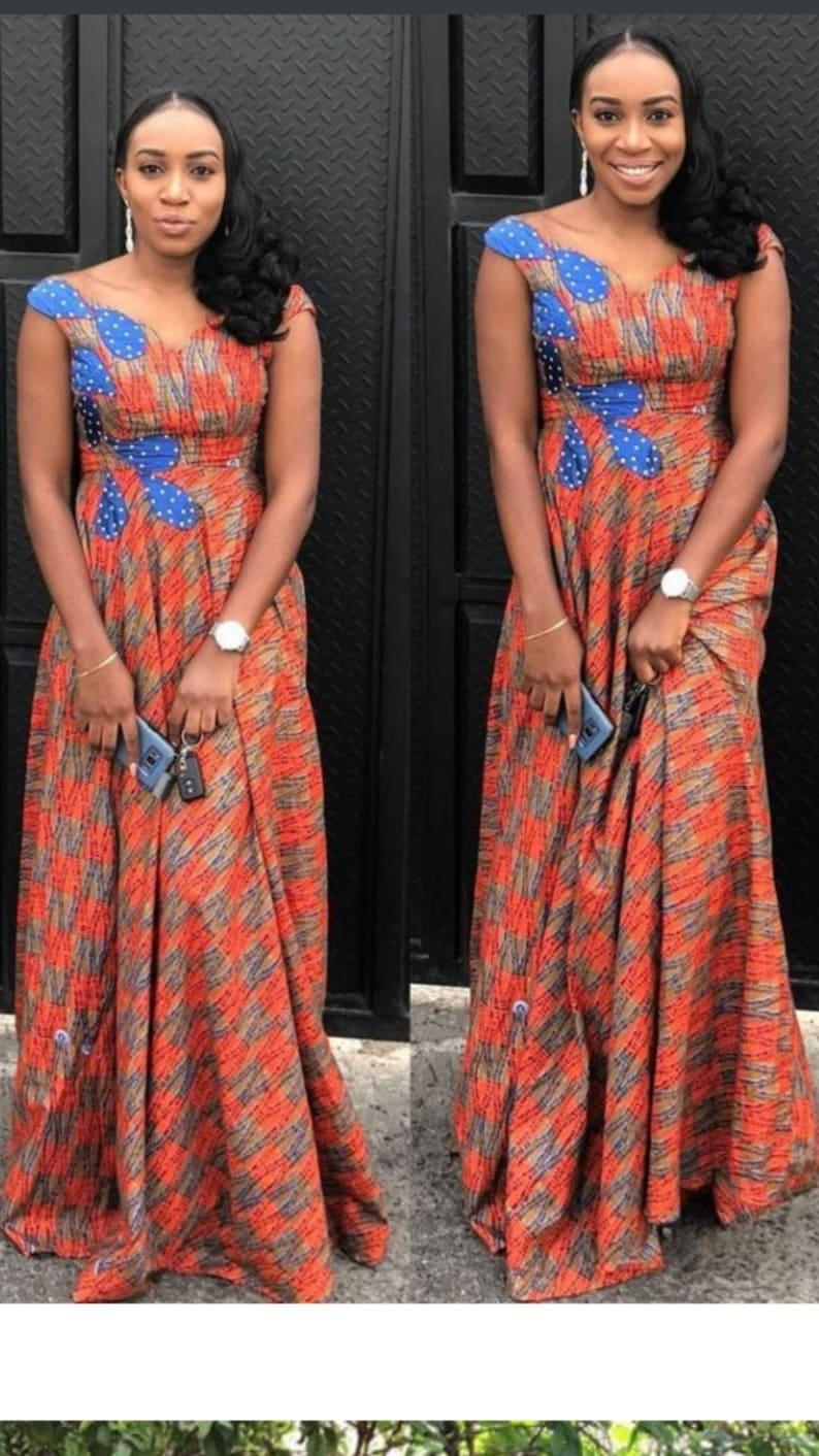 93c0b0c29c5 Simple And Classy Ankara Gowns | Saddha