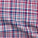 Patriotic Plaid Pet Bandana -- dog bandana // cat bandana // cotton // red, white & blue