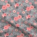 Efflorescent Pet Bandana -- dog bandana // cat bandana // floral bandana // cotton bandana