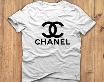 Chanel Shirt, Coco Chanel tshirt, Chanel t-shirt, Gucci shirt, men s Chanel  shirt, women s Chanel tshirt, Chanel gift, Birthday gift 6d2172867f3