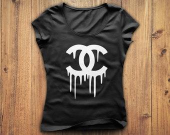 Chanel Shirt, Coco Chanel tshirt, Chanel t-shirt, Gucci shirt, Chanel t  shirt, women s Chanel tshirt, Chanel gift, Birthday gift e939f1b7876