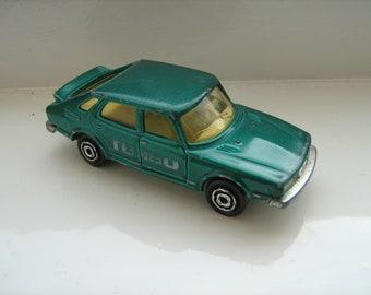 8a2ae25b7709b8 Saab Turbo Majorette. Diecast toy.