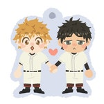 Oofuri Mihashi&Abe charm