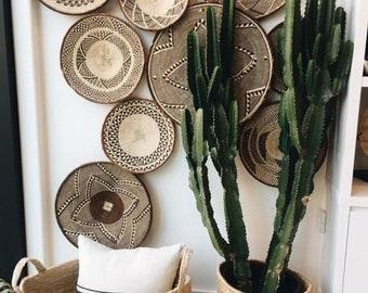 African Wall Baskets // Tonga Baskets // Assorted Woven Hanger Baskets // Binga Wall Hangings // Boho Style // Home Decor