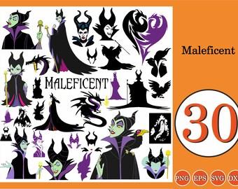 Maleficent Svg Etsy