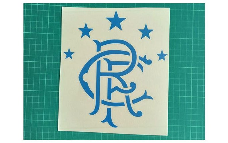 Rangers Fc Vinyl Car Decal Sticker