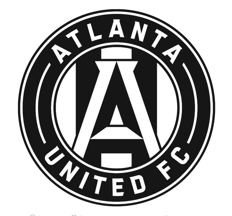 RED Atlanta United FC Pet Personalized Collar Bandana/'s