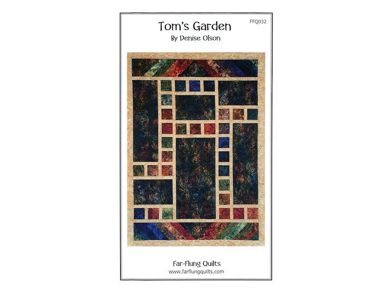 Tom's Garden quilt pattern FFQ032 image 0