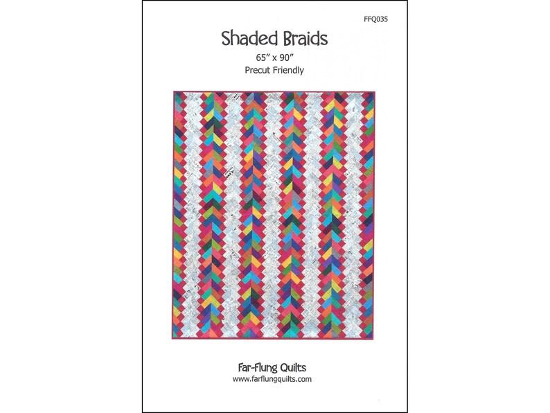 Shaded Braids quilt pattern FFQ035 image 0