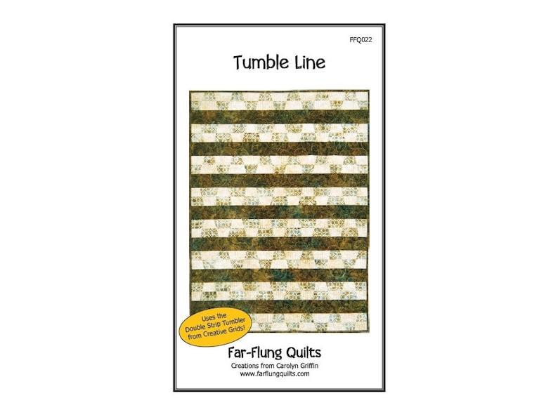 Tumble Line quilt pattern FFQ022 image 0