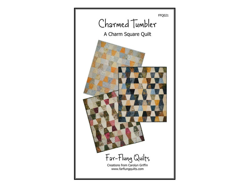 Charmed Tumbler quilt pattern FFQ021 image 0