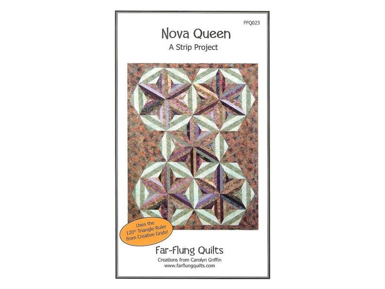 Nova Queen quilt pattern FFQ023 image 0