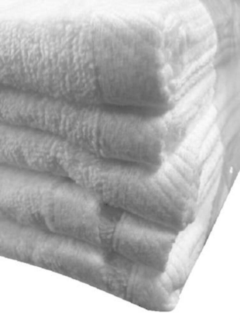 12 jumbo black swimming hotel cabana beach towels pool towel 30x60 soft velour
