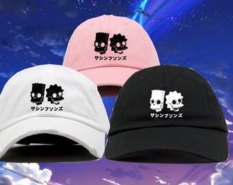 Japanese Baseball Cap Retro Trucker Heritage Mens Womens Hat Japan Tokyo Black
