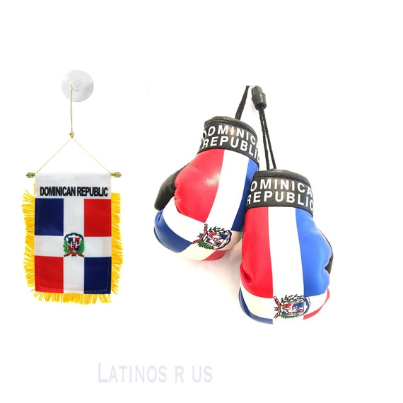 DOMINICA Mini Boxing Gloves many different Flags and Styles DOMINICA