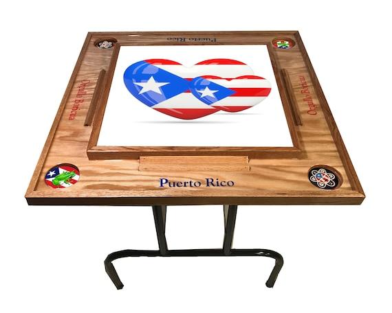 Puerto Rico De Corazon Domino Table