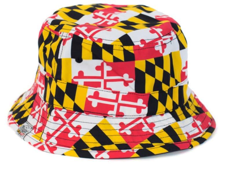 1d5992238 MD Flag Bucket Hat