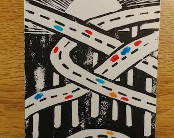 Highways Mini Print