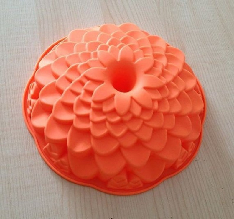 Big Sunflower Cake Mold Soap molds 3d Flexible Silicone Mould Candle Candy Resin Crafts bath bomb mold soap making polymer clay baking tools