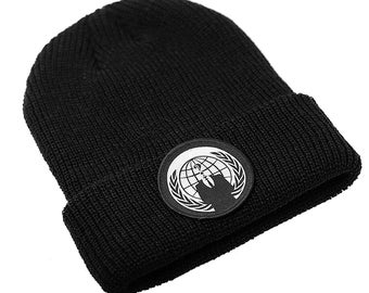 Fisherman Beanie Anon Patch
