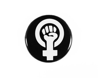 Feminism Pin-Back Button