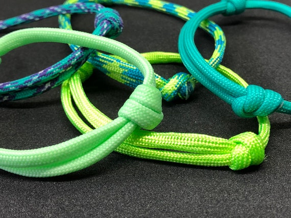 Paracord 550 Friendship Bracelet//Anklet Kabbalah Red StringHandmade Adjustable