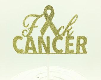 glaçage comestible cake topper décoration Charity soutien conscient La recherche sur le cancer 8 in environ 20.32 cm