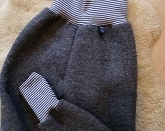 Walkhose Kids Feel-good Pants | size 56-80, 86, 92, 98, 104, 110, 116, 122, 128 | Walk | Bündchen |   Grey, Green, Blue, Old Pink