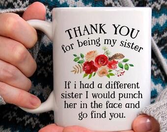 Sister Gifts Gift Ideas Mug Sisters Birthday Christmas