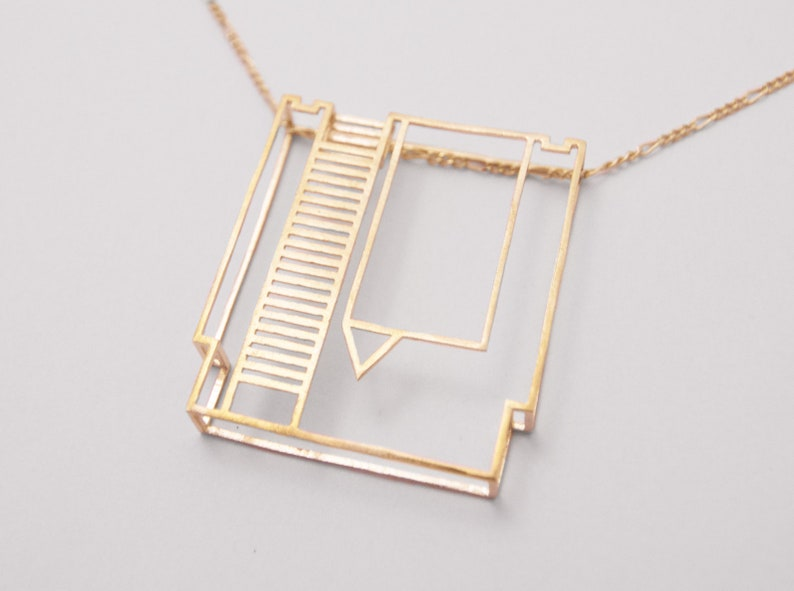 NES Cartridge Pendant  3D Printed Nintendo Necklace  Gamer image 0