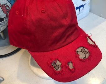 8131b5c495119 100% Authentic Repurposed Gucci Fabric Custom Hat