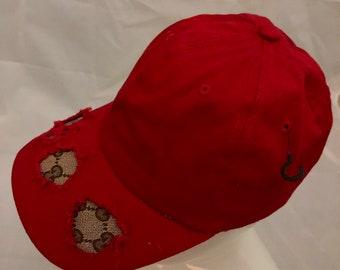 d2f76281ec5 100% Authentic Repurposed Gucci Fabric Custom Hat