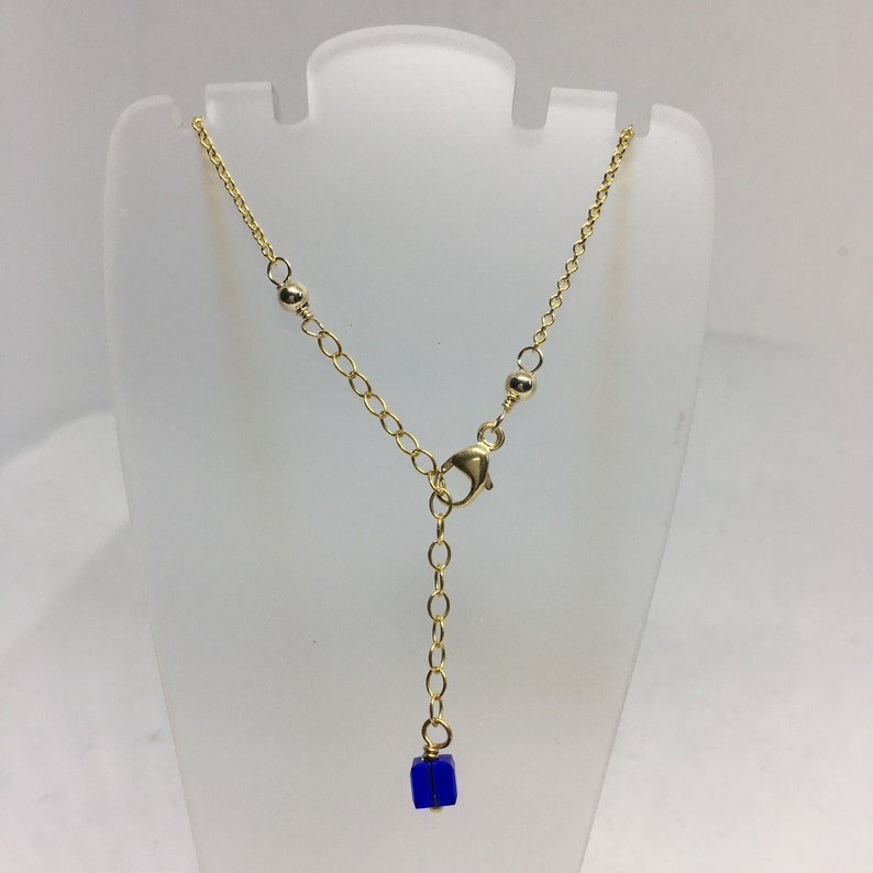 For Her Snake Lover Gift Delicate Small Sterling Silver Charm on Gold Fill Chain Mixed Metal Snake Necklace Tiny Jewelry