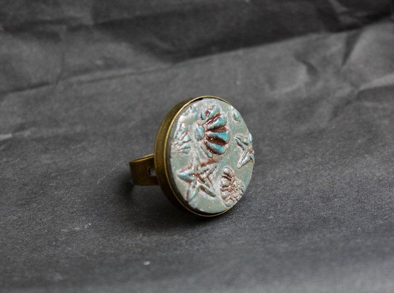 maxi boho ring  gipsy ring