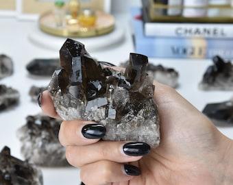 smoky quartz raw