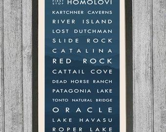 Arizona typography | Etsy