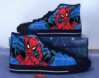 ebfeb032ac0b Spiderman shoes - Spiderman high tops