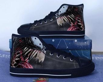 Venom shoes - Venom high tops - Venom Sneakers Converse Styled Shoes 0956f0de3ab